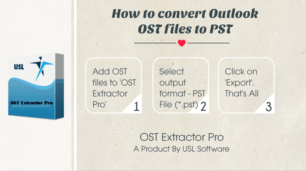 convert ost to pst free